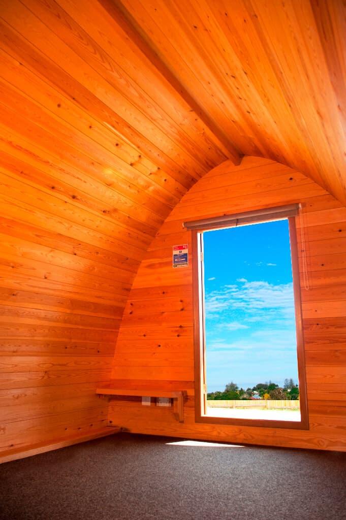 Cornwall Camping Pod Interior