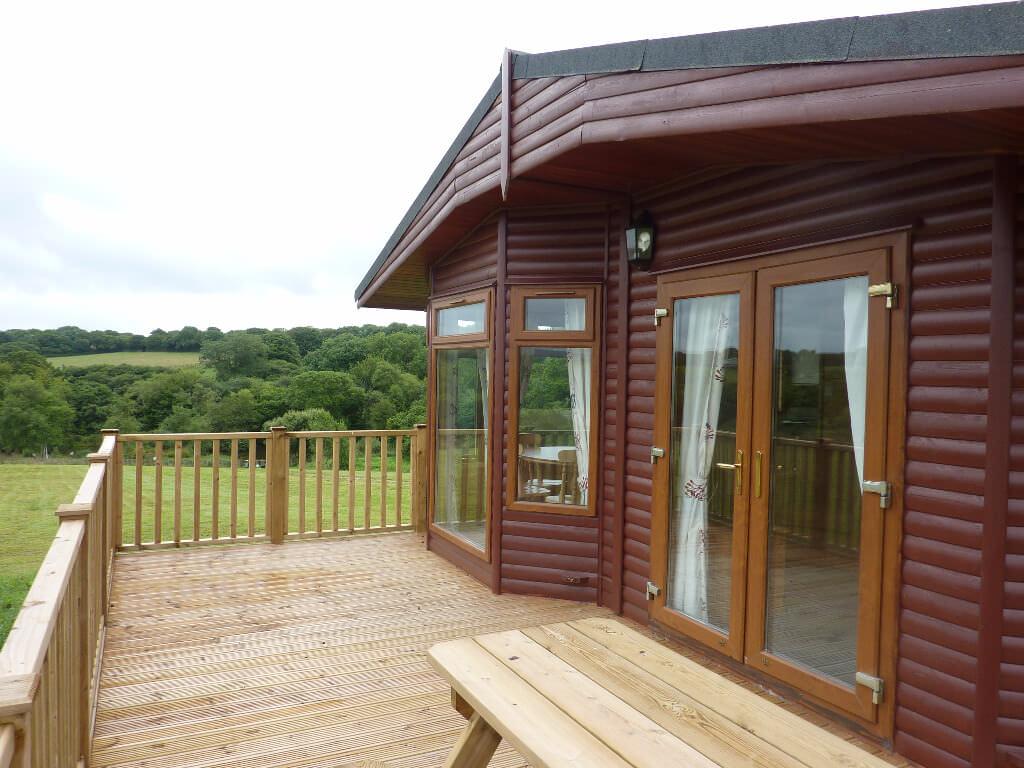 Cornwall Willow Lodge Holiday Exterior