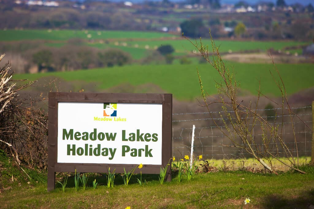 Meadow Lakes Holiday Park in Cornwall