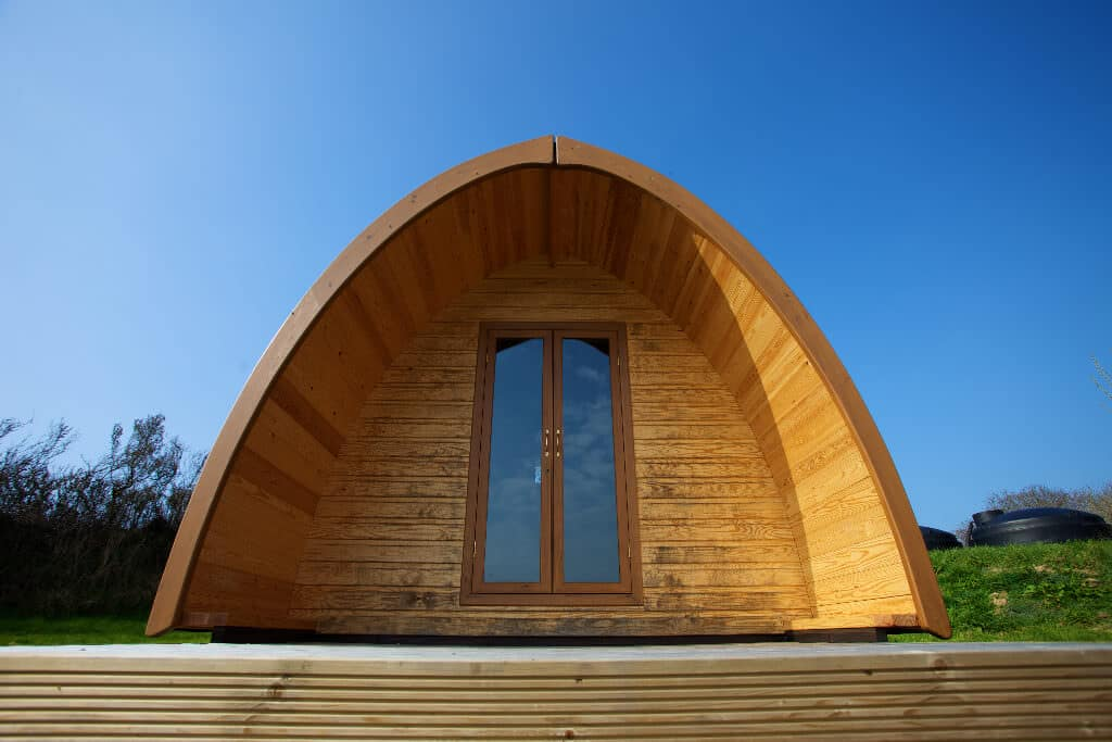 Meadow Lakes Camping Pods in Cornwall