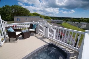 Meadow Lakes Holiday Park Hot tub